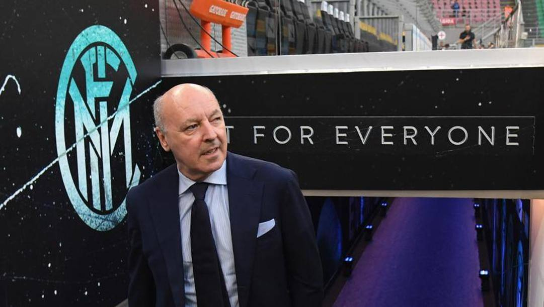 Beppe Marotta, a.d. Inter. Getty